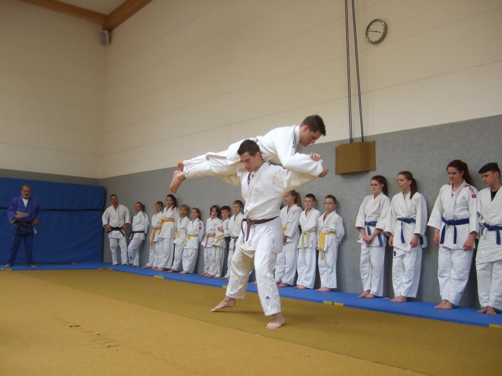 Vorführung - Judowurf